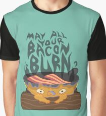 May All Your Bacon Burn Graphic T-Shirt