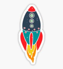 Space Rocket Sticker