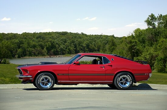 1969 Mustang Mach 1 by TeeMack