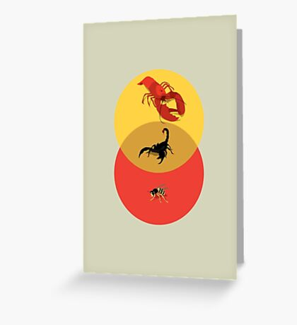 Pinchy and Stingy Greeting Card
