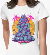 Hotline Miami Women's Fitted T-Shirt