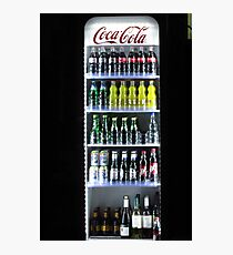 Soft Drinks Cabinet Photographic Print
