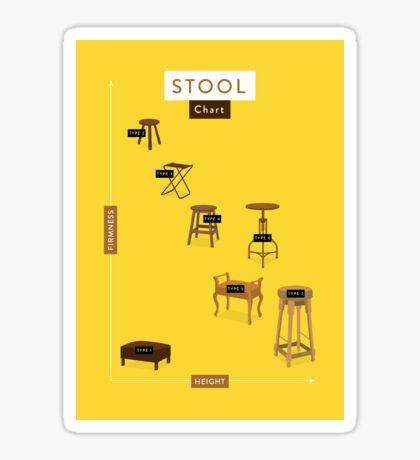 Stool Chart Sticker