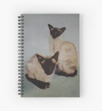 Charlie and Willow Spiral Notebook