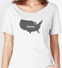 USA Home Women's Relaxed Fit T-Shirt