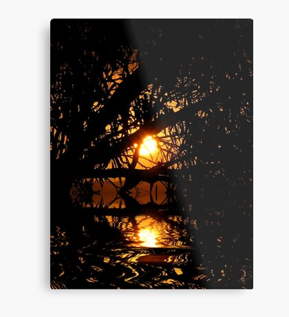light within darkness Metal Print