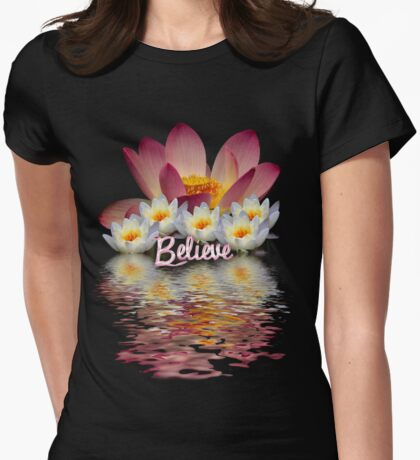 BELIEVE  LOTUS PEACE T-Shirt
