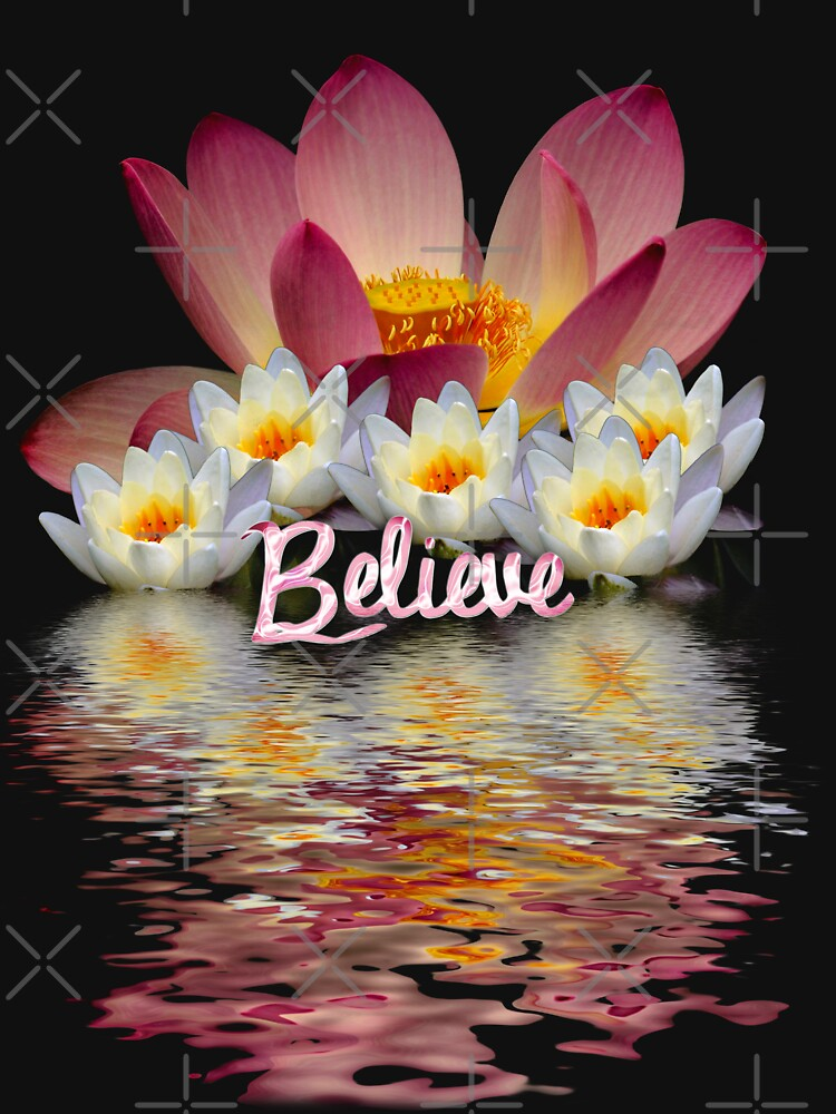 BELIEVE  LOTUS PEACE by webgrrl