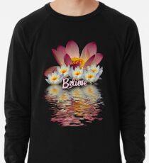 BELIEVE  LOTUS PEACE Lightweight Sweatshirt