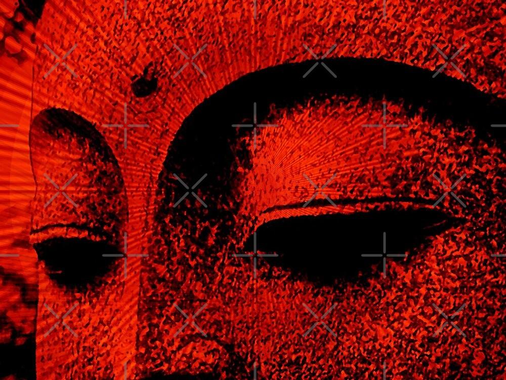 red buddha by webgrrl