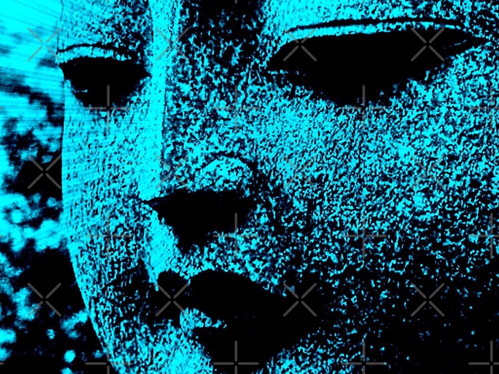 BUDDHA BLUE by webgrrl