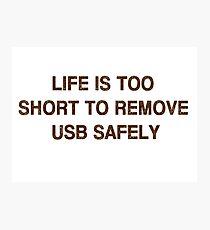 Pc Funny USB Photographic Print