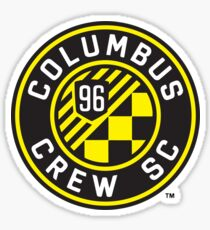 Columbus Crew Soccer Club Sticker