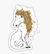 Horsecat Sticker