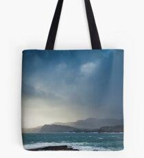 Storm clouds over Sliabh Liag Tote Bag