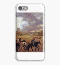 Sir John Gilbert - Margaret of Anjou Taken Prisoner After the Battle  iPhone Case/Skin