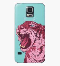 Magenta tiger Case/Skin for Samsung Galaxy