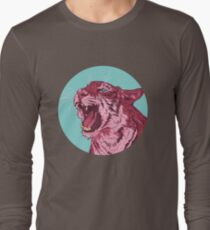 Magenta tiger Long Sleeve T-Shirt