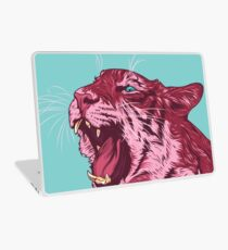 Magenta tiger Laptop Skin