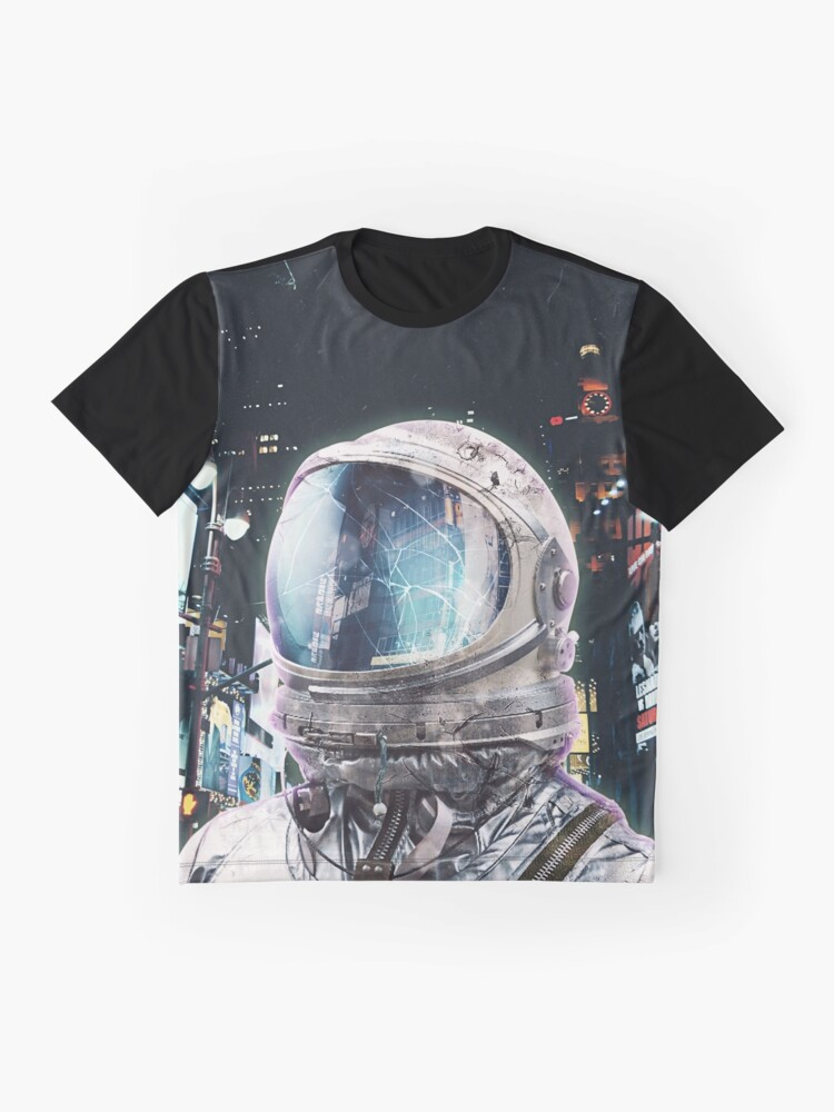 Alternate view of Night Life Graphic T-Shirt