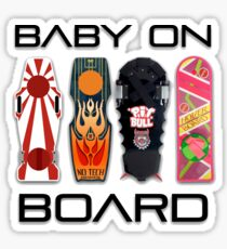 Baby on (Hover) Board Sticker