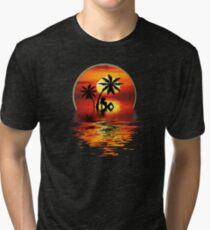 SUNSET HOLIDAYS Tri-blend T-Shirt