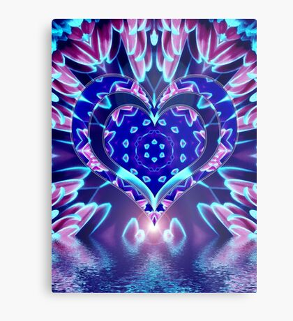 Love and Nature into Art Metal Print