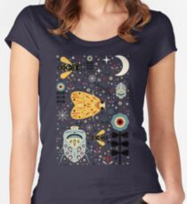 Midnight Bugs Women's Fitted Scoop T-Shirt