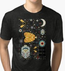 Midnight Bugs Tri-blend T-Shirt