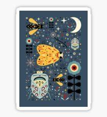 Midnight Bugs Sticker