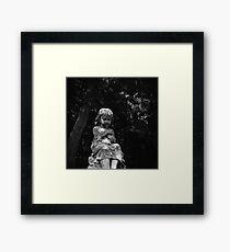 Cemetery Child - Vintage Lubitel 166 Photograph Framed Print