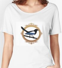 KJC Magpie logo Women's Relaxed Fit T-Shirt