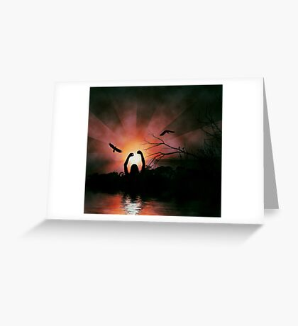 REACH FOR THE SUN Greeting Card