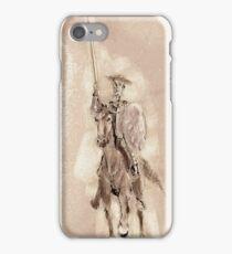 Don Quijote - José Antonio Peñas Artero iPhone Case/Skin