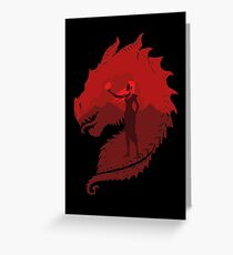 Mother of Dragons (Dark) Greeting Card