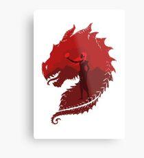Mother of Dragons (Light) Metal Print