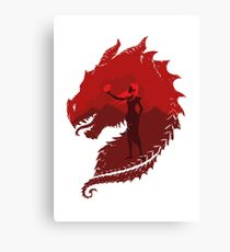 Mother of Dragons (Light) Canvas Print