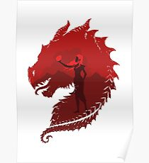 Mother of Dragons (Light) Poster