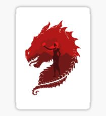 Mother of Dragons (Light) Sticker