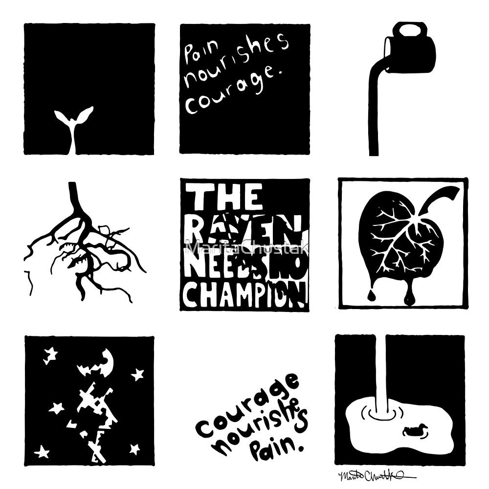The Raven Needs No Champion by MaritaChustak