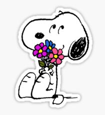 Snoopy Springtime Sticker