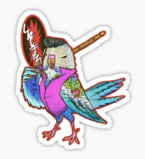 Yakuza Budgie Sticker