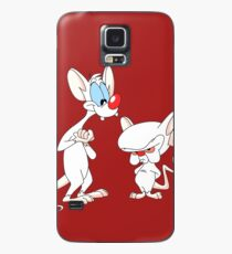 Best Friend Pinky And Brain Case/Skin for Samsung Galaxy