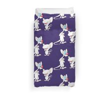 Best Friend Pinky And Brain Duvet Cover