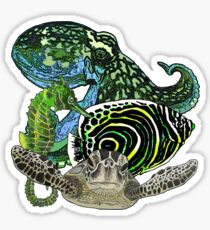 Marine life Sticker
