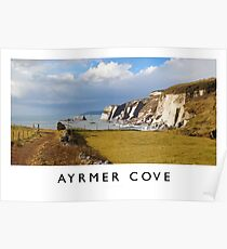 Ayrmer Cove (Railway Poster) Poster