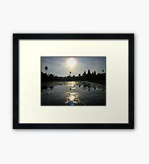ANGKOR WAT TiME 10am| CAMBODIA Framed Print