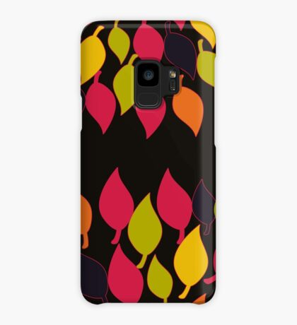 Funky Leaves Case/Skin for Samsung Galaxy
