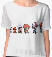 Pokemon evolution Women's Chiffon Top