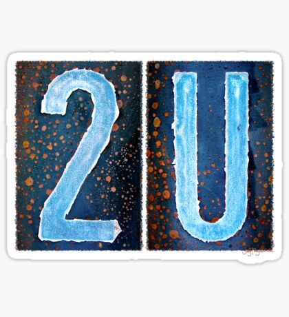 2U Sticker
